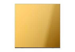 Klavišas viengubas be rėmelio GO2990 gold