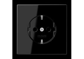 Kištukinis lizdas be rėmelio LS1520SW juodas