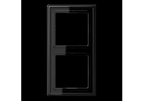 Rėmelis dvivietis LS982SW juodas