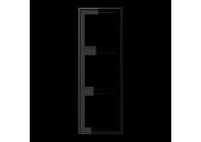 Rėmelis trivietis LS983SW juodas