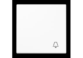 Klavišas viengubas su simboliu LS990KWW baltas