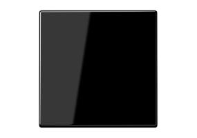 Klavišas viengubas LS990SW juodas