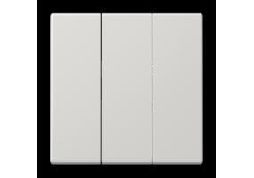 Klavišas trigubas LS993BFLG pilkas