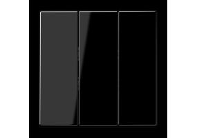 Klavišas trigubas LS993BFSW juodas