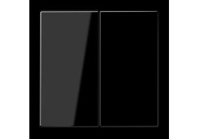 Klavišas dvigubas LS995SW juodas