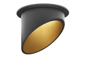 Įleidžiamas šviestuvas AMBIENCE UGR 793D BLACK/GOLD