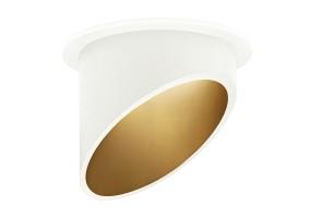 Įleidžiamas šviestuvas AMBIENCE UGR 793D WHITE/GOLD