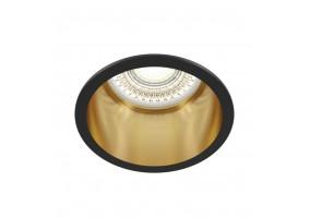 Įleidžiamas šviestuvas REIF BLACK/GOLD