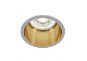 Įleidžiamas šviestuvas REIF WHITE/GOLD