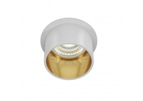 Įleidžiamas šviestuvas DL050-01WG REIF WHITE/GOLD
