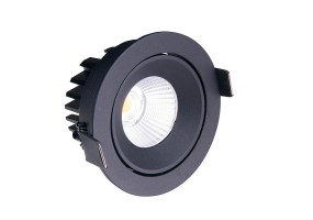 Įleidžiamas šviestuvas CYKLOP BLACK IP65