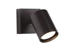 Sieninis šviestuvas TOP black 1