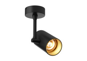 Akcentinis/lubinis  šviestuvas TORI SL 1 BLACK