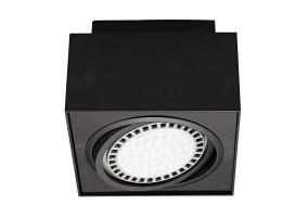 Įleidžiamas šviestuvas BOXY CL 1 BLACK