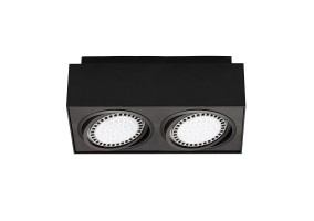 Lubinis šviestuvas BOXY CL 2 BLACK