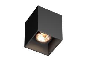 Akcentinis/lubinis šviestuvas SQUARE BLACK