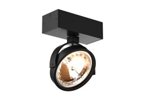Akcentinis/lubinis  šviestuvas GO SL 1 BLACK