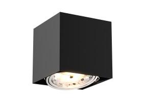 Akcentinis/lubinis šviestuvas BOX SL BLACK