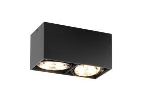 Akcentinis/lubinis šviestuvas BOX SL 2 BLACK