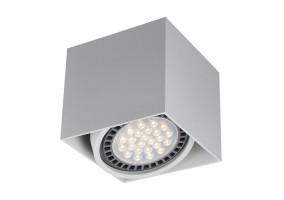 Akcentinis/lubinis šviestuvas BOX 1 WHITE