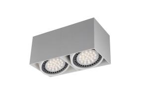 Akcentinis/lubinis šviestuvas BOX 2 WHITE