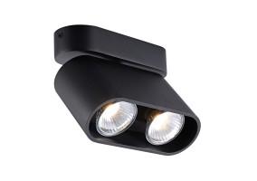 Akcentinis/lubinis šviestuvas RONDIA 2 BLACK