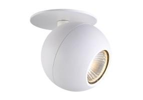 Akcentinis įleidžiamas šviestuvas BUELL 1  WHITE