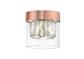 Lubinis šviestuvas GEM 1 copper