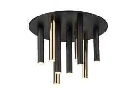 Lubinis šviestuvas LOYA 9  MATT BLACK/ FRENCH GOLD