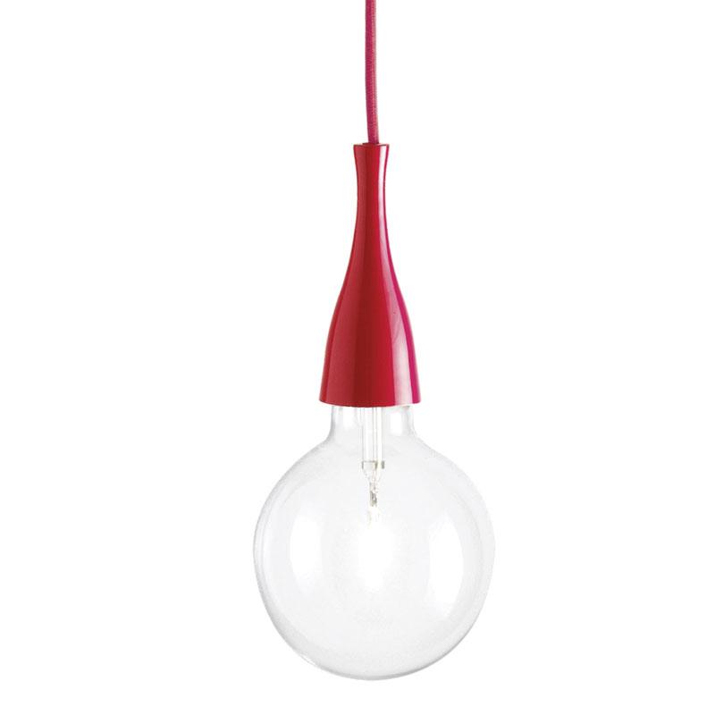 Pakabinamas šviestuvas MINIMAL Rosso