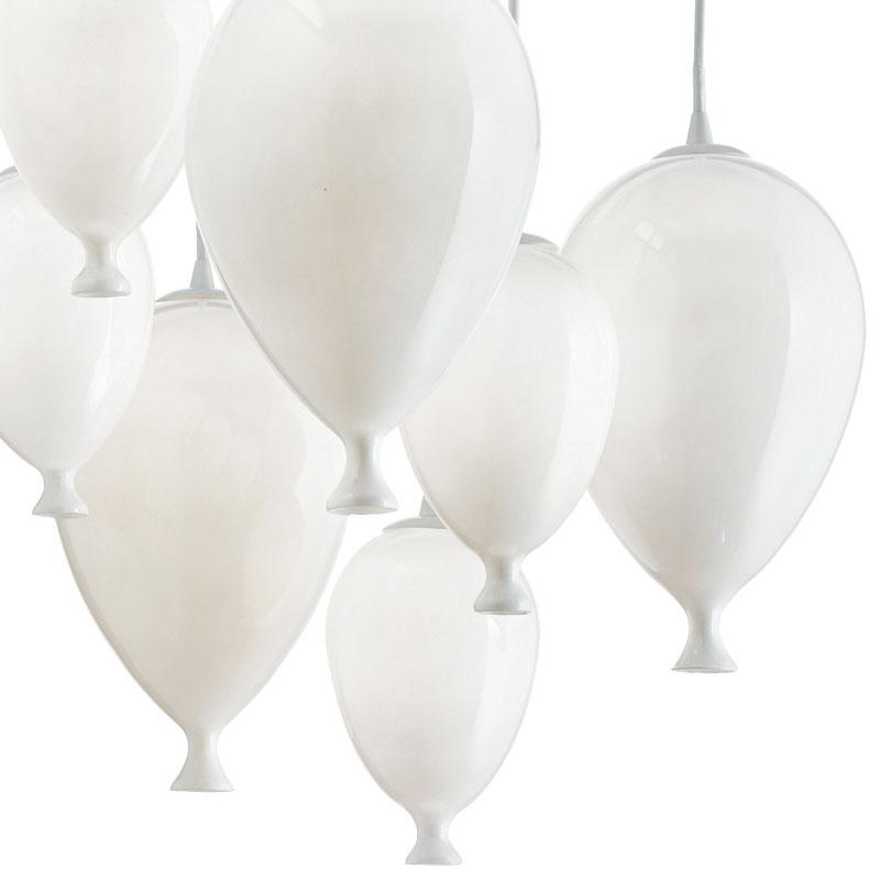 Pakabinamas šviestuvas CLOWN Bianco M