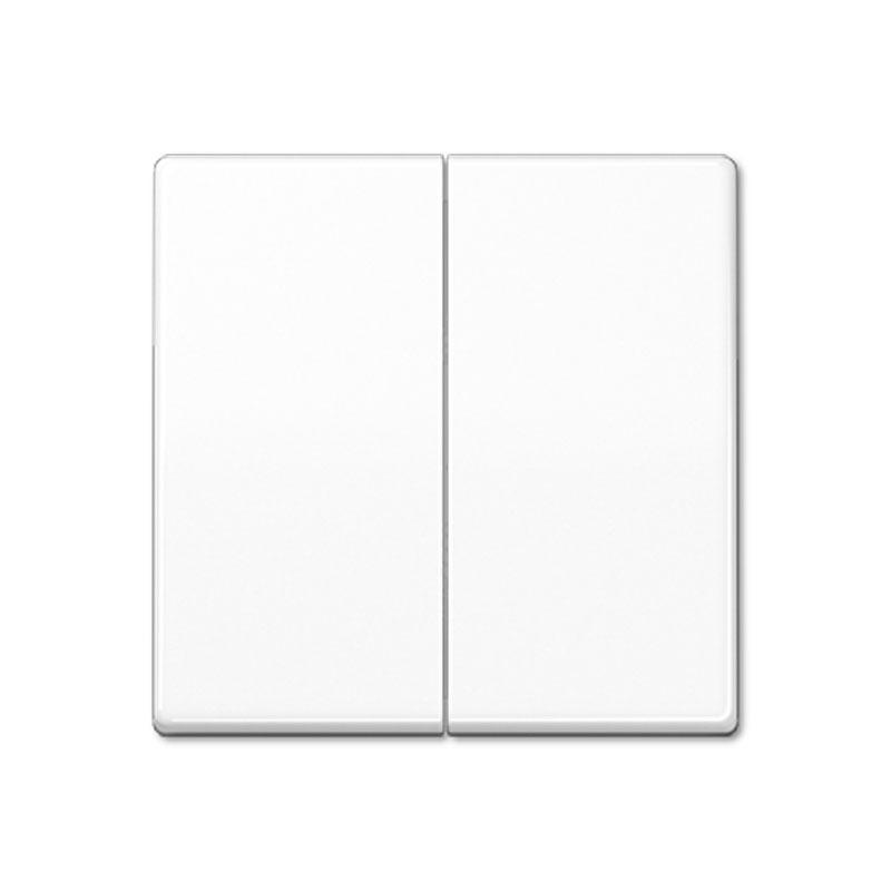 Klavišas dvigubas AS591-5WW baltas
