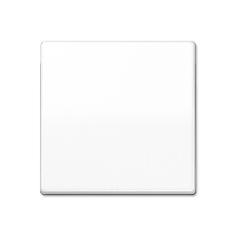 Klavišas viengubas  AS591WW baltas