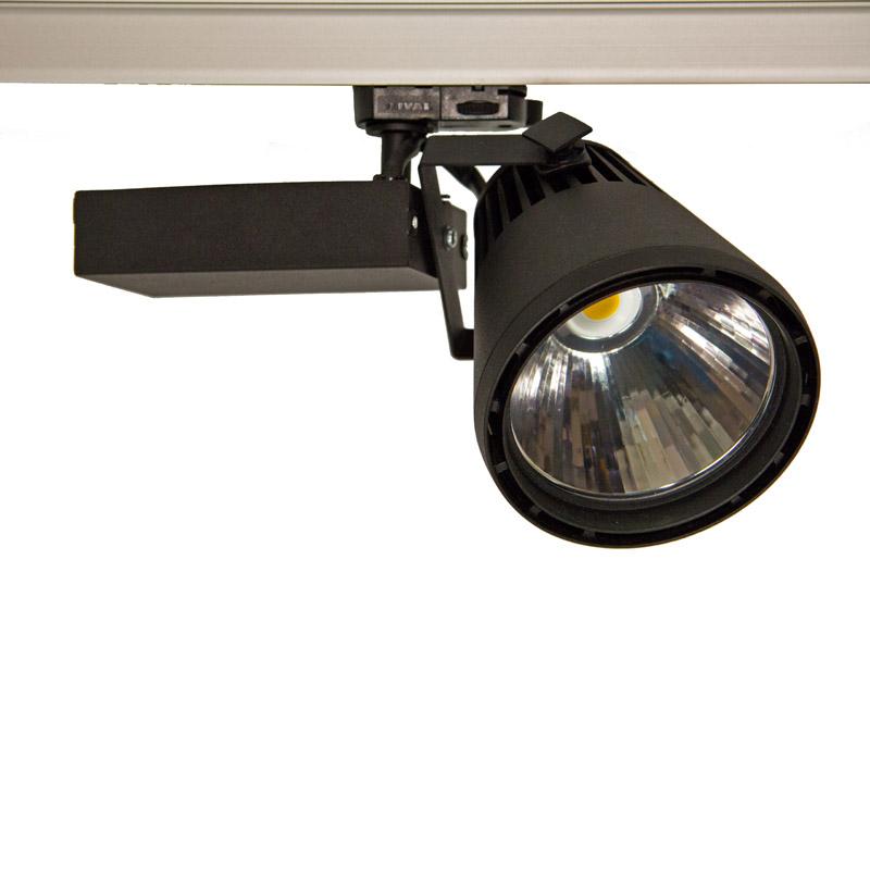 Akcentinis šviestuvas GLIDER 1206/830   38W WFL  juodas