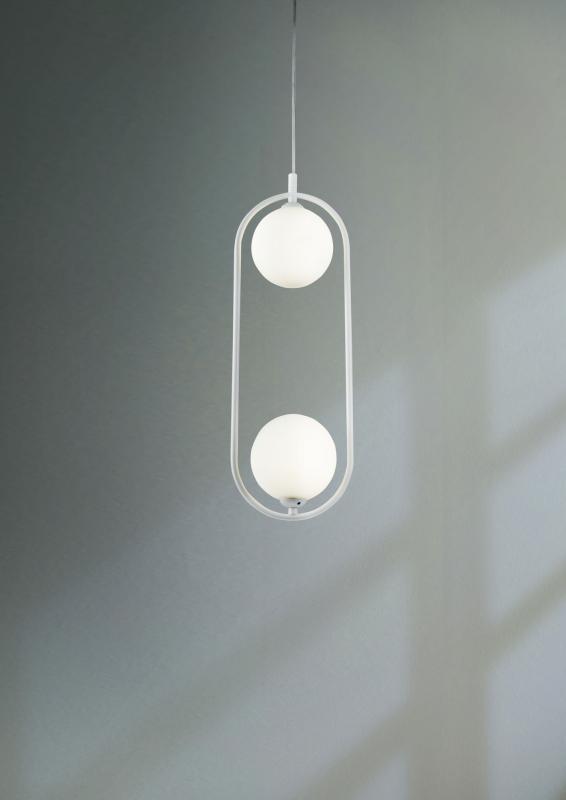 Pakabinamas šviestuvas RING 02 WHITE