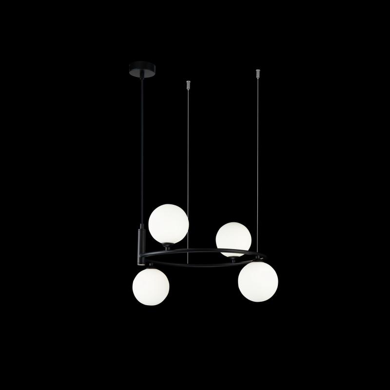 Pakabinamas šviestuvas RING 04 BLACK