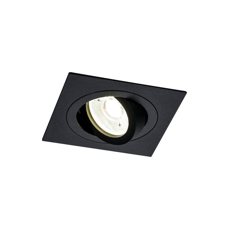 Įleidžiamas šviestuvas ATOM 1 BLACK