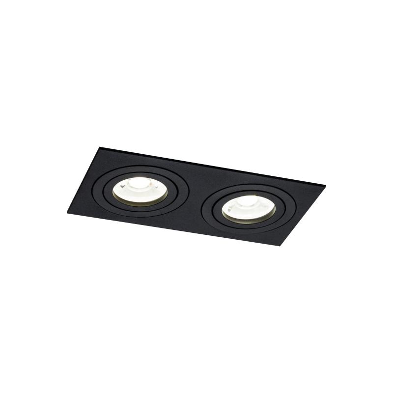 Įleidžiamas šviestuvas ATOM 3 BLACK