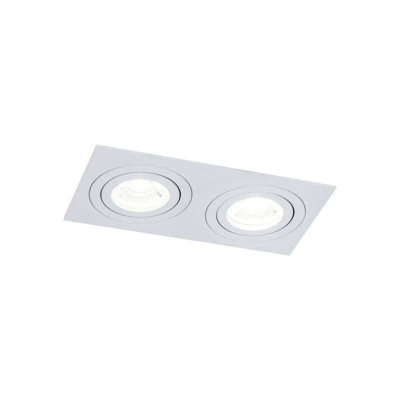 Įleidžiamas šviestuvas ATOM 3 WHITE