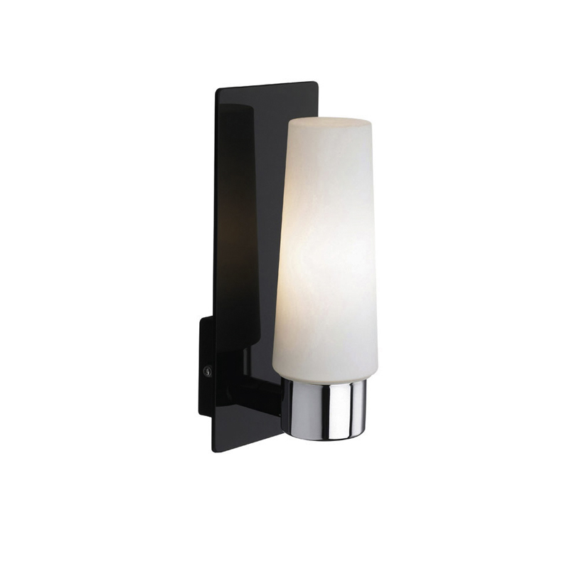 Sieninis šviestuvas MANSTAD LED Black chrome/White