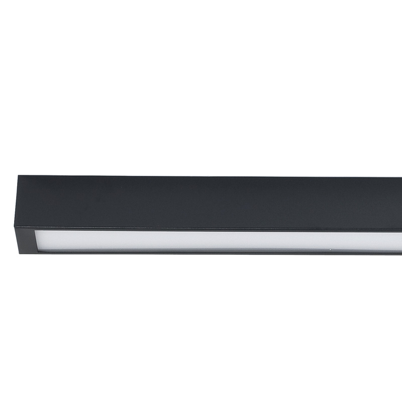Lubinis šviestuvas STRAIGHT LED GRAPHITE CEILING S