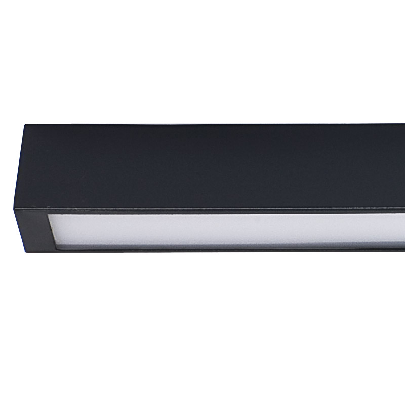 Lubinis šviestuvas STRAIGHT LED GRAPHITE CEILING L