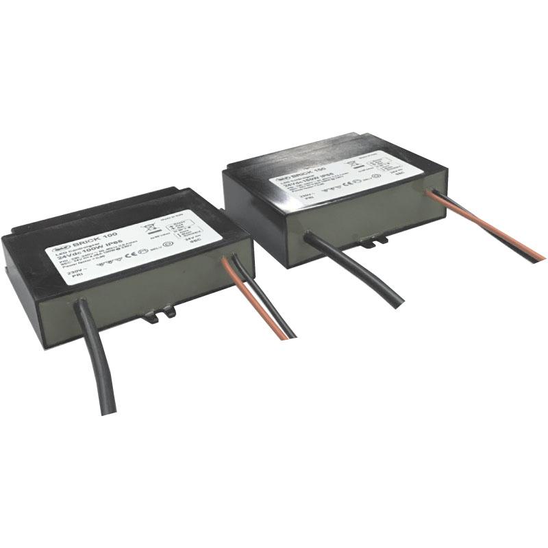 LED maitinimo šaltinis 24V 150W IP65 PFC  BRICK150