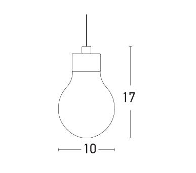 Pakabinamas šviestuvas 15101