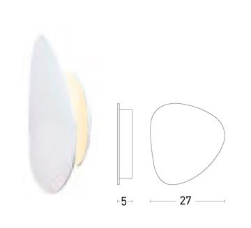 Sieninis šviestuvas 17024