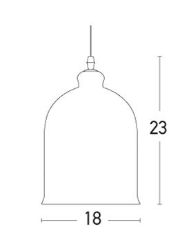 Pakabinamas šviestuvas 17079