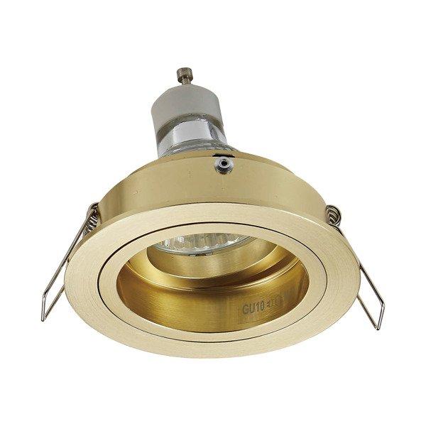 Įleidžiamas šviestuvas CHUCK DL ROUND GOLD 92699
