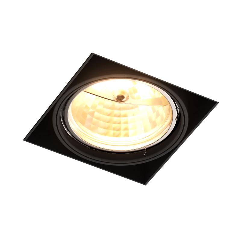 Įleidžiamas užglaistomas šviestuvas ONEON DL111-1 BLACK