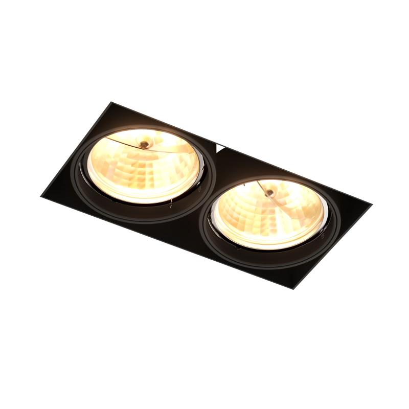 Įleidžiamas užglaistomas šviestuvas ONEON DL111-2 BLACK 94364
