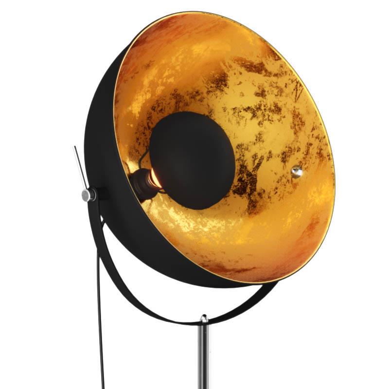 Pastatomas šviestuvas ANTENNE Black/Gold
